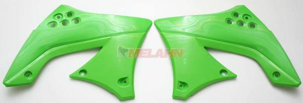 UFO Spoiler (Paar) Kühlerverkleidung KXF 450 10-11, grün/schwarz (original)