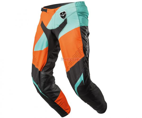 KTM TLD Hose: SE Slash, schwarz/orange/mint