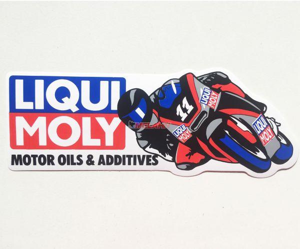 LIQUI MOLY Aufkleber Motor Oils & Additives 15,5x5cm
