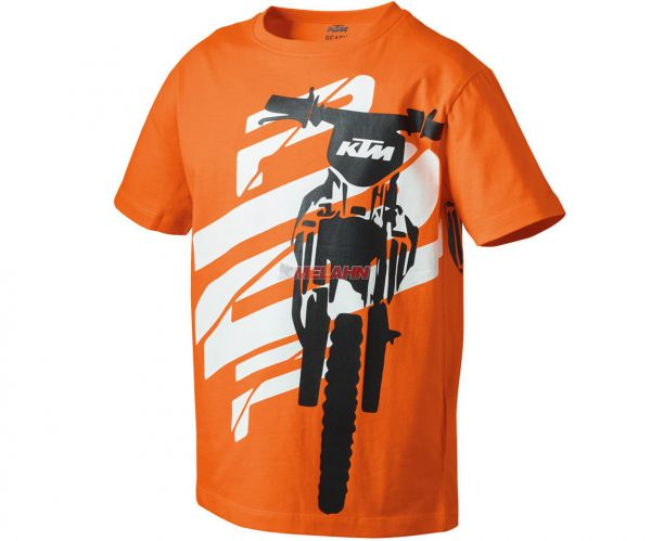 KTM Kids-T-Shirt: Radical, orange