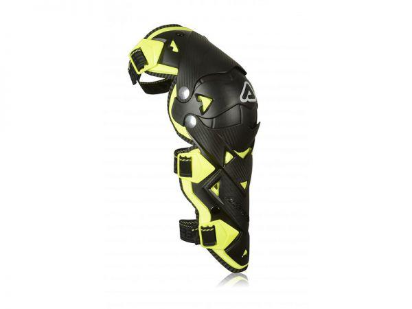 ACERBIS Knieprotektor (Paar): Impact Evo 3.0 schwarz/gelb, Gr. L/XL