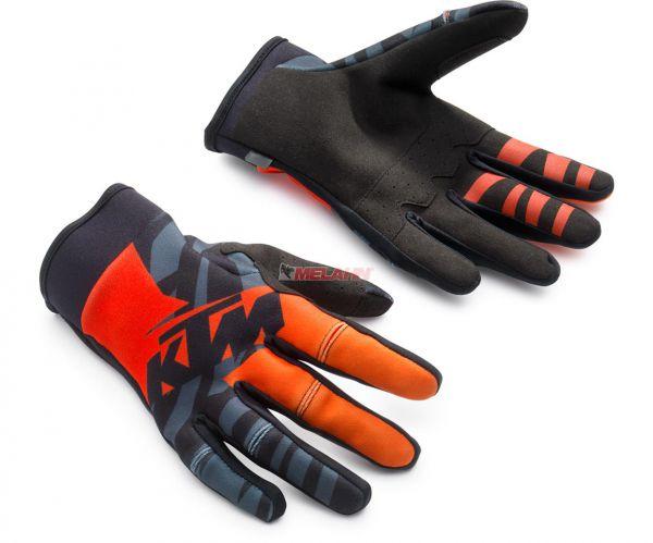 KTM Handschuh: Racetech, orange/schwarz