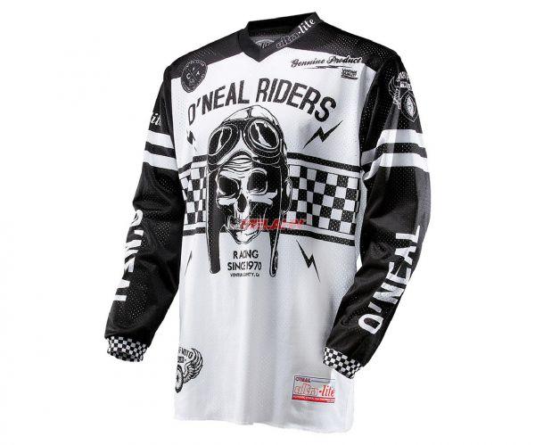 ONEAL Jersey: Ultra Lite 70, schwarz/weiß