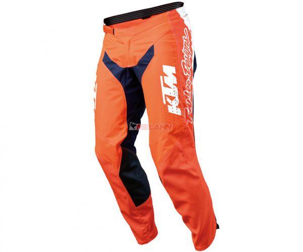 KTM TLD Hose: SE Pro, orange/blau/weiß