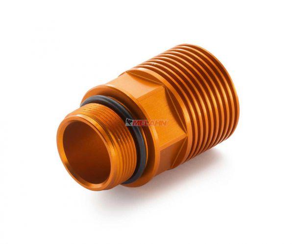 KTM Fussbremszylinderdeckel mit Extender SX/EXC, orange