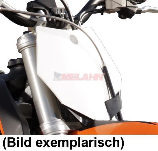 KTM Starttafel 65 SX, 09-15, weiß 2011