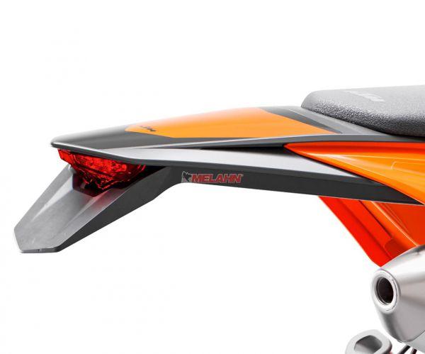 KTM Kotflügel hinten mit Dekor schwarz, EXC 2020