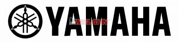 FX Aufkleber: YAMAHA 20x4cm, schwarz