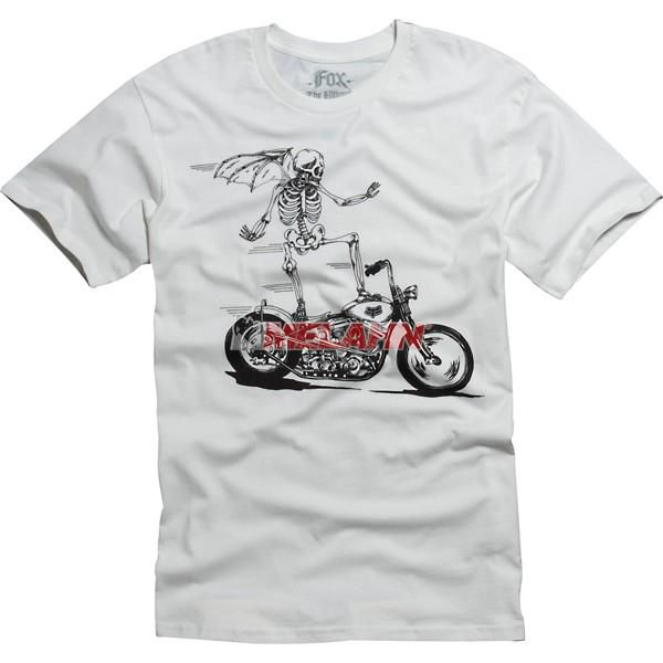 FOX T-Shirt: Street Surfer, hellgrau, Gr.: S