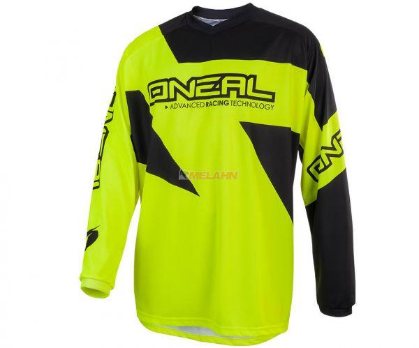 ONEAL Jersey: Matrix, neongelb/schwarz