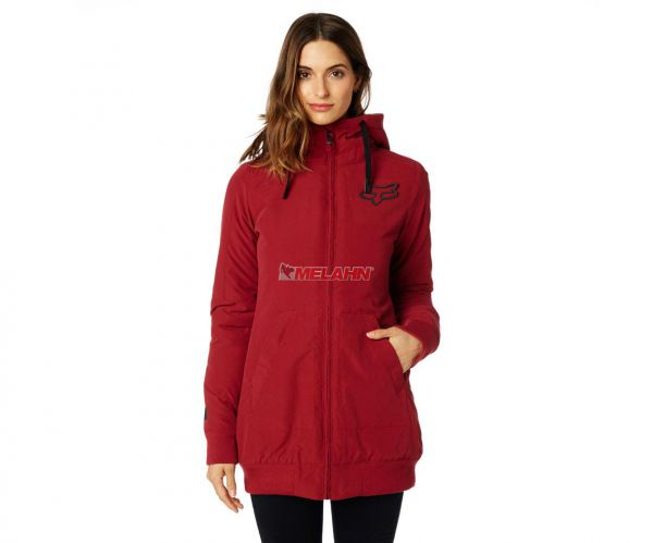FOX Girls Jacke: Metrick, dunkelrot