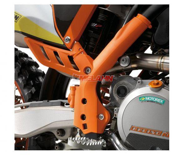 KTM Rahmenschützer (Paar), orange, SX 11-15 / EXC/SMR 12-16