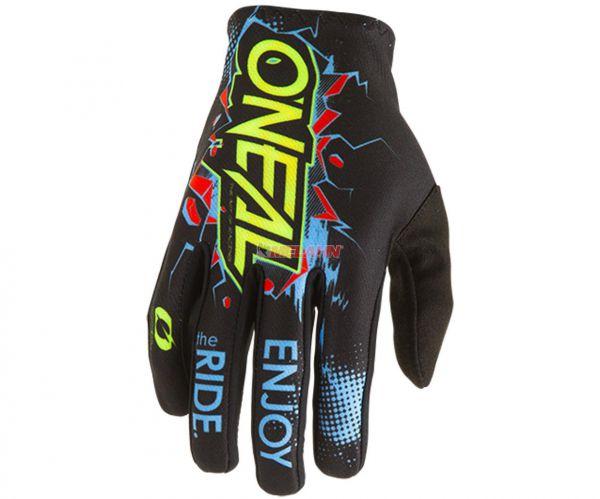 ONEAL Handschuh: Matrix Villain, schwarz/multi