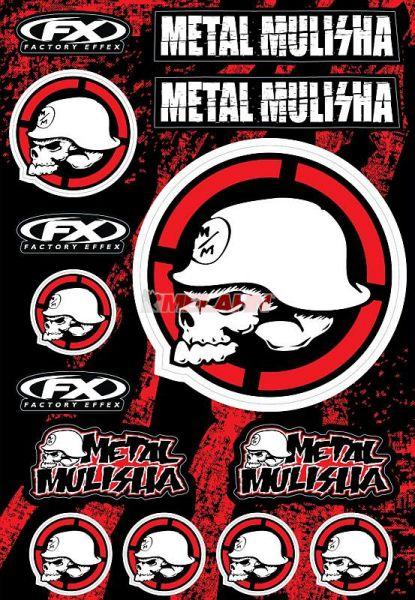 FX Aufkleberkit Metal Mulisha