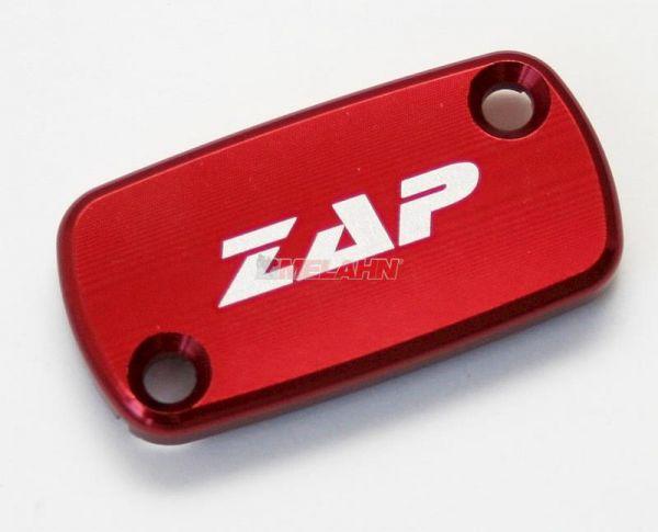 ZAP Aluminium-Deckel Handbremszylinder YZ/YZF 08-, rot