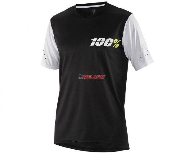 100% MTB-Jersey: Ridecamp, schwarz