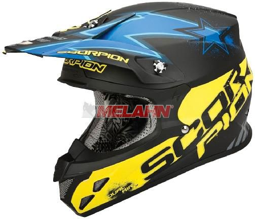 SCORPION Helm: VX-20 Air Magnus, blau