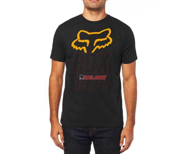 FOX Premium T-Shirt: Blasted, schwarz