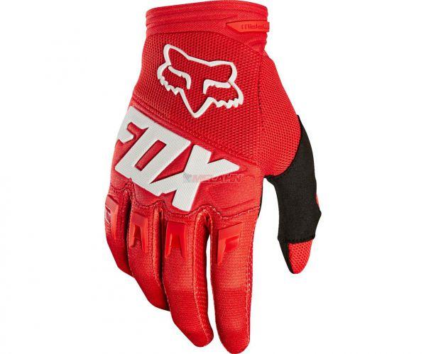 FOX Kids Handschuh: Dirtpaw, rot