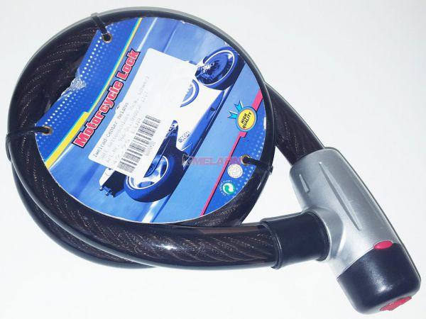 SAFE Seilschloss 90cm, schwarz