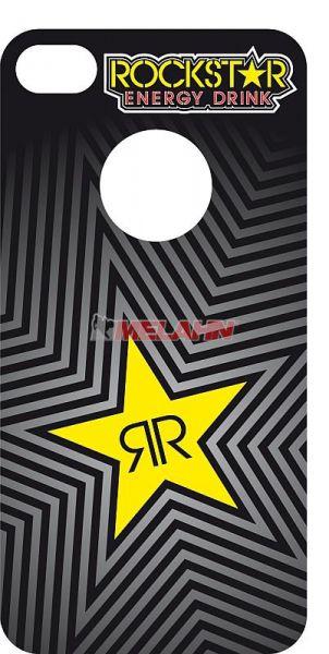 ROCKSTAR iPhone 3 Sticker, grau