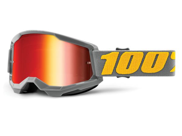 100% Brille: Strata 2 Izipizi, grau/orange