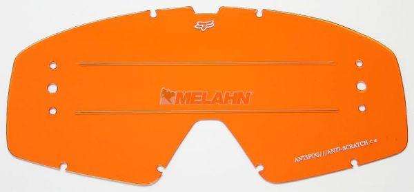 FOX Ersatzglas Roll-Off-System Main/Main Pro, orange