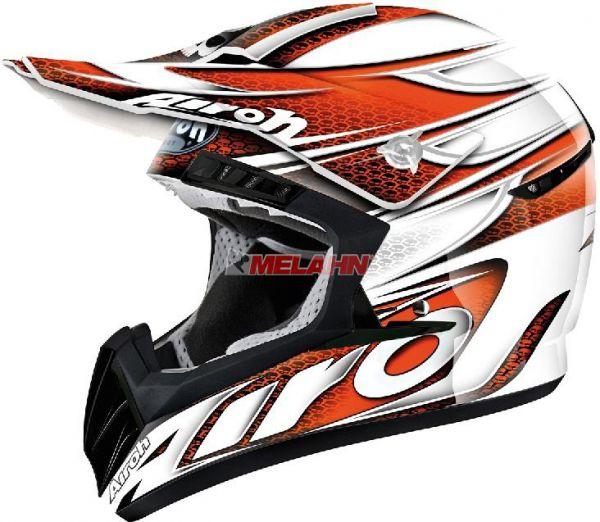 AIROH Helm: CR901 Linear, orange