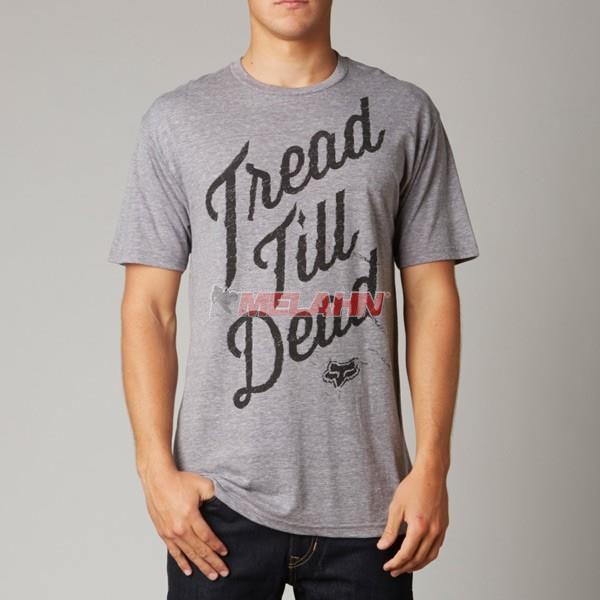 FOX Premium T-Shirt: Firmly Rooted, grau