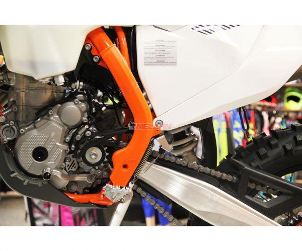 KTM Rahmenschutz-Set (Paar), orange, SX 16- /EXC 17