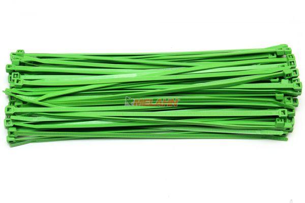 MT Kabelbinder (100 Stück), farbig, 280mm, grün