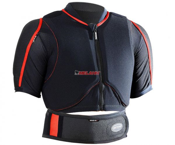 ORTEMA Protektoren-T-Shirt: Ortho-Max Enduro, schwarz