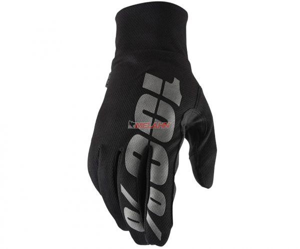 100% Handschuh: Hydromatic, schwarz