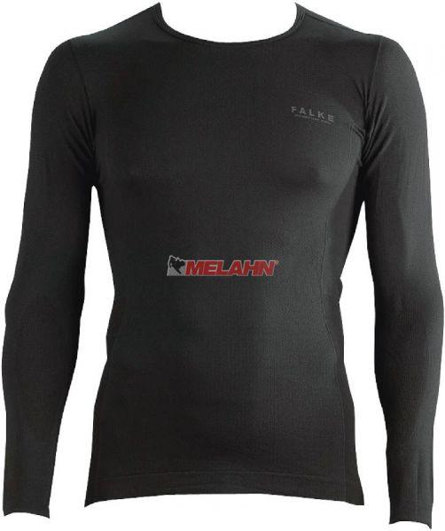 FALKE LS-Shirt: Athletic light, schwarz