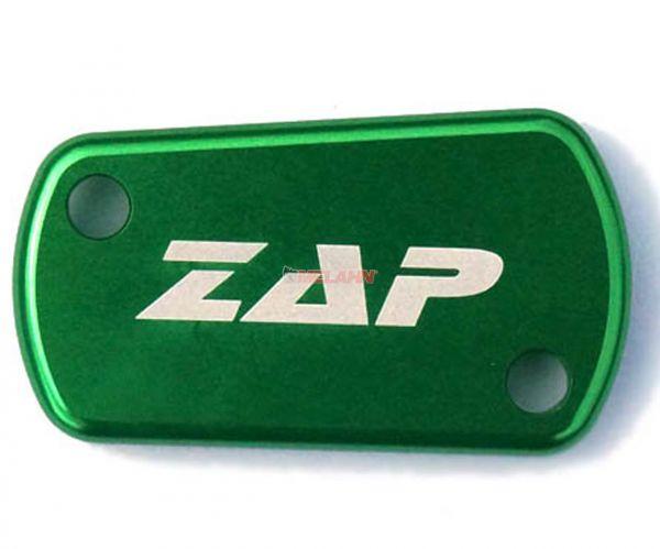 ZAP Aluminium-Deckel Fußbremszylinder, KX/KXF/RM/RMZ, grün