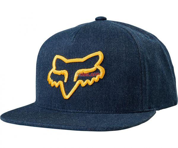 FOX Snapback Cap: Instill, blau